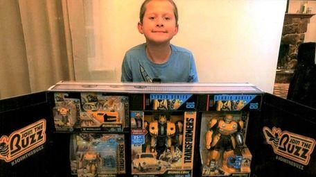 Kidsday reporter Hunter Held of RJO Intermediate School,
