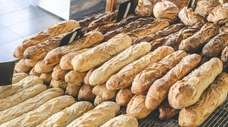 Baguettes, available in three degrees of doneness, are