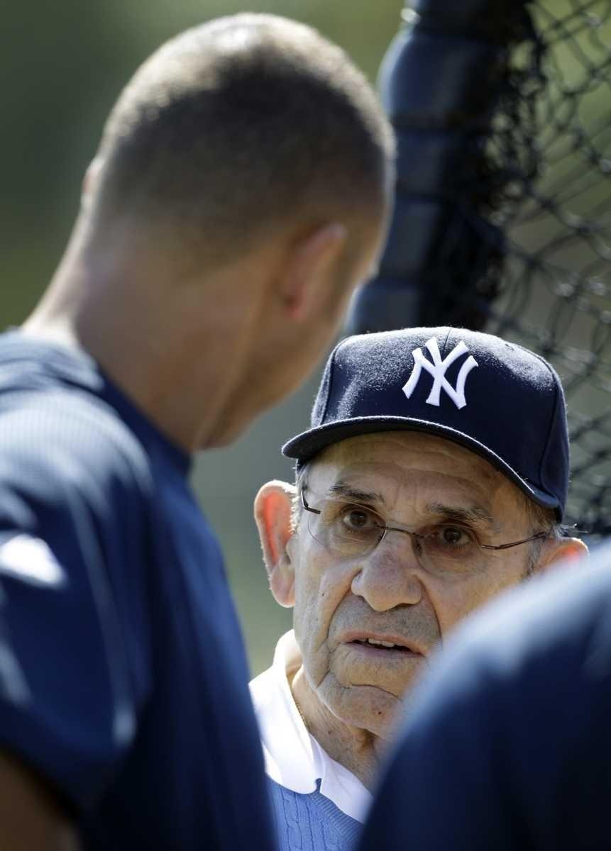 New York Yankees Hall of Fame catcher Yogi