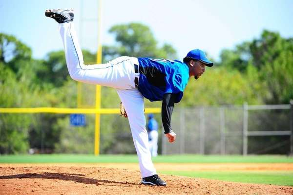 Pedro Beato during a spring training workout