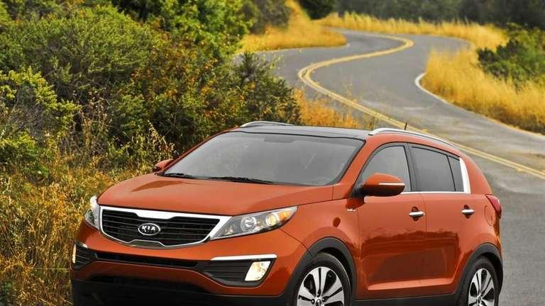 2011 Kia Sportage is practical but still iffy.