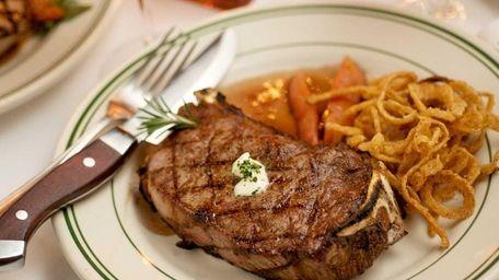 George Martin's Strip Steak in Great River offers