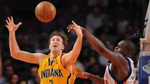 Former Pacers forward Troy Murphy is one player