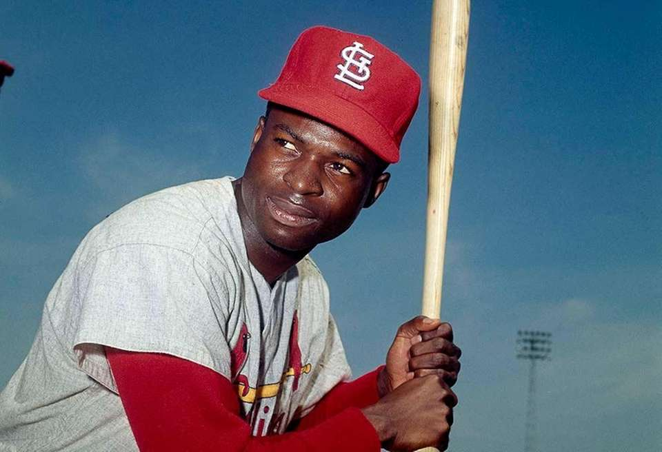 23) LOU BROCK, 3,023 career hits 19 seasons,
