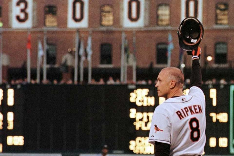 14) CAL RIPKEN JR., 3,184 career hits 21