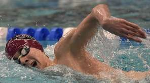 Jake Newmark of Garden City competes in the