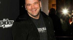 UFC president Dana White arrives at UFC, Famous