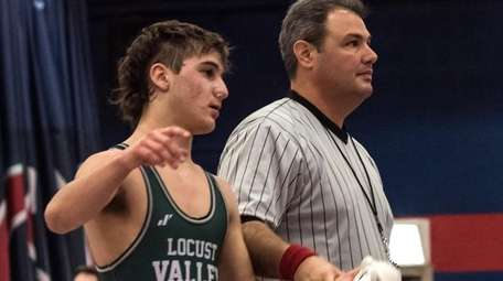 Locust Valley's Vincent Marchand wins at 126 pounds