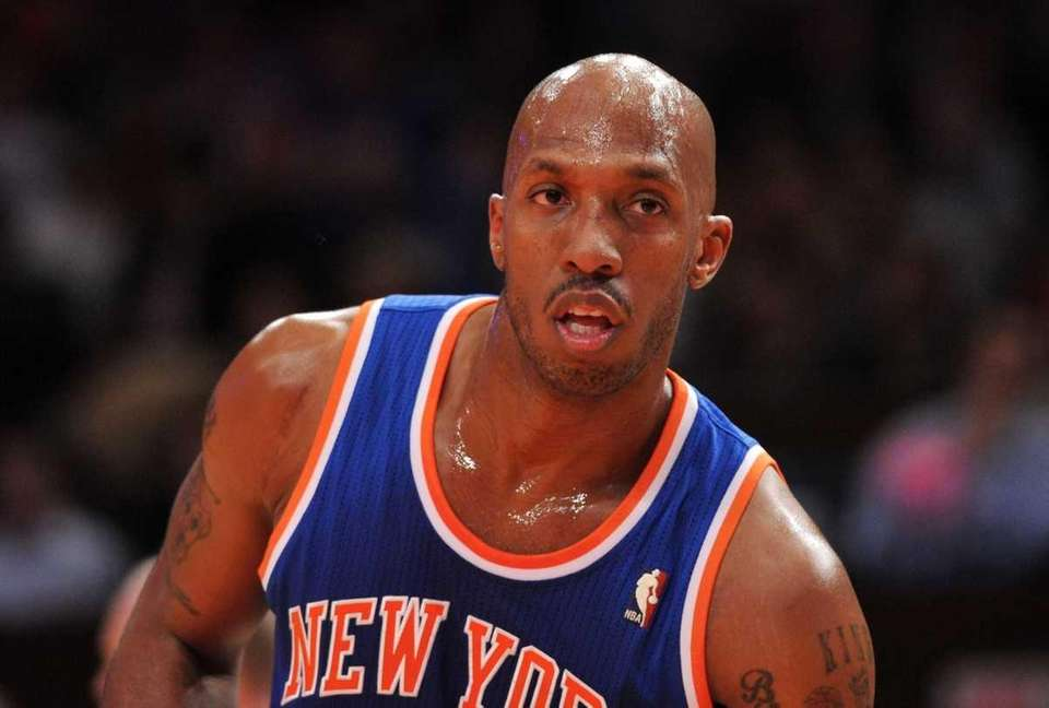 Chauncey Billups (4) during the game against the