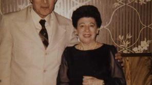 Vito Badalamente along with his wife, Rosalie, at