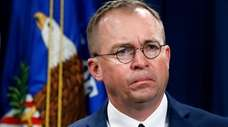 Mick Mulvaney, now acting White House chief of
