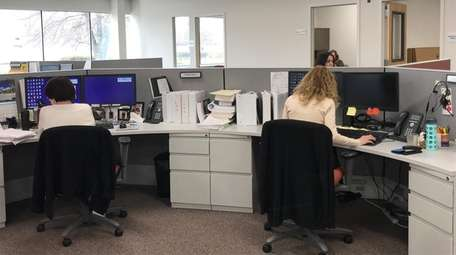 Catholic Health Services' new office in Melville has