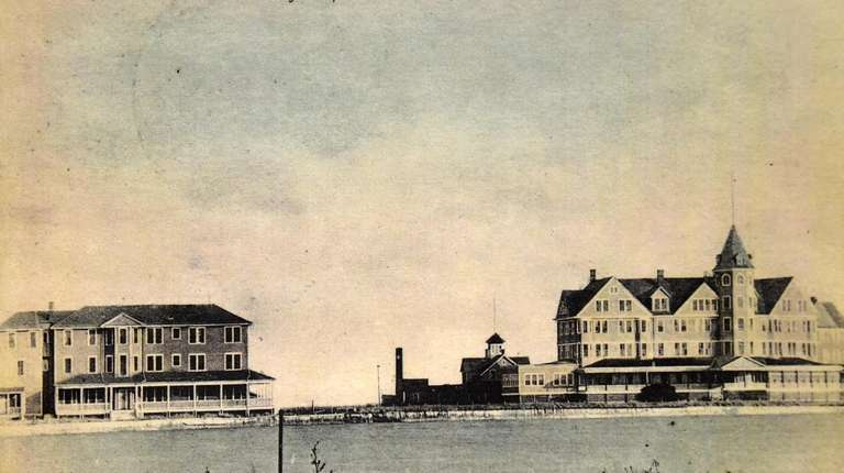 Hotel Newpoint & Annex circa 1890s.