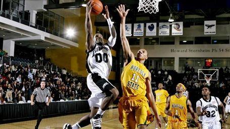 A handout photo of LIU Brooklyn basketball's senior