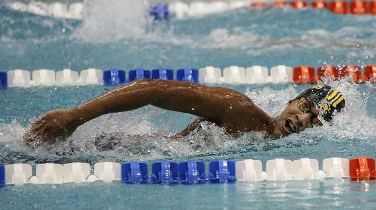 Joseph Tonna of St. Anthony's competes in the