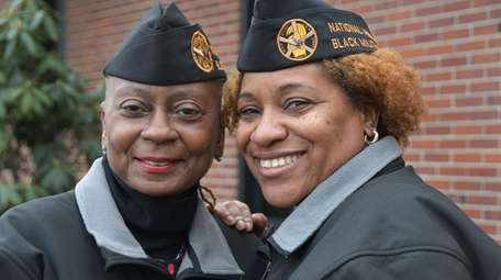 Annette Tucker Osborne, left, a retired Army colonel,