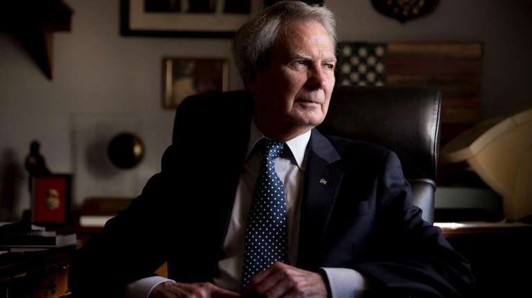 Rep. Walter Jones Jr. (R-N.C.) in his office