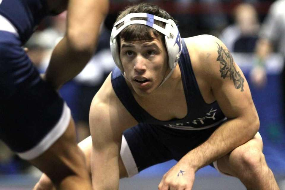 John Glenn's Vinny Punzone looks to take down