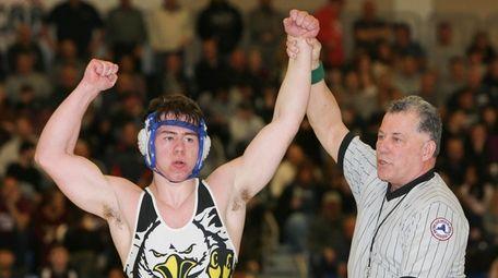 Hauppauge's Michael Tyrell defeats Joe Lopresti of Sayville