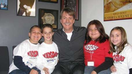 Comedian and author Jeff Foxworthy at Sirius Radio