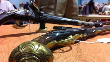 The Long Island Antique Historical Arms Society hosted