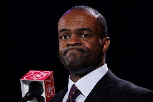 DeMaurice Smith speaks during a news conference. (Undated