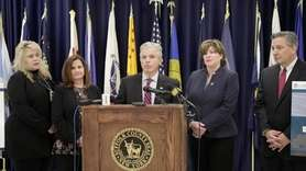 On Monday, Suffolk County Executive Steve Bellone announced