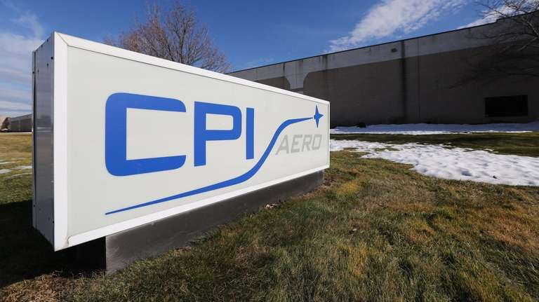 CPI Aerostructures in Edgewood, seen on Feb. 1,