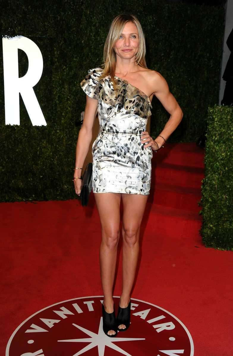 Actress Cameron Diaz was flying solo on the