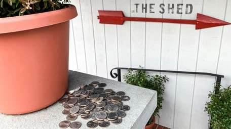 The Shed is helping diners feed their meters.