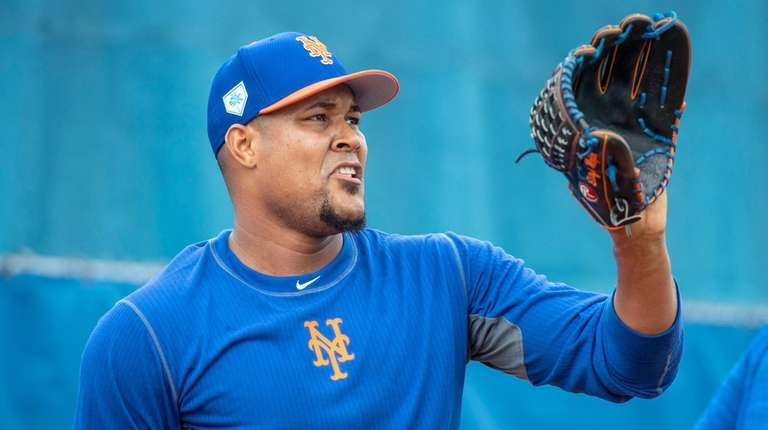New York Mets player Jeurys Familia during a
