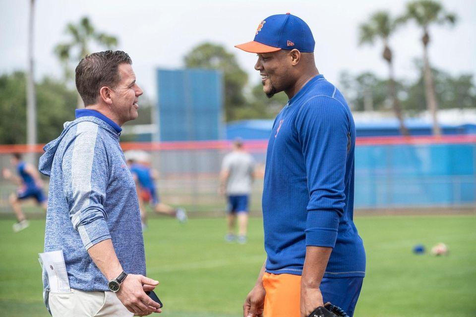 New York Mets GM Brodie Van Wagenen and