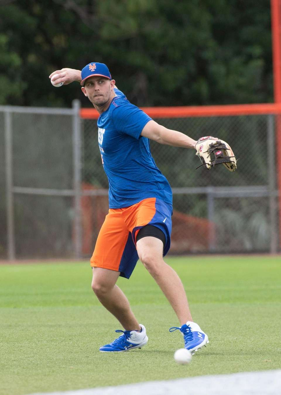 New York Mets player Jeff McNeil during a