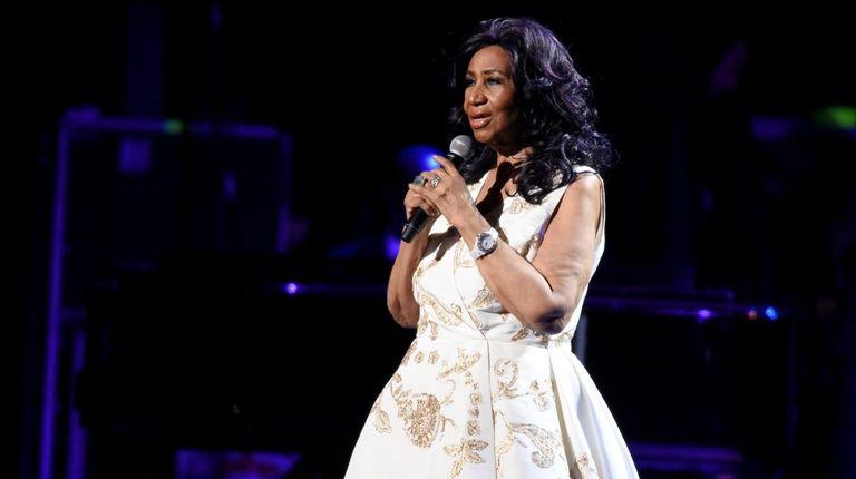NEW YORK, NY - APRIL 19: Aretha Franklin