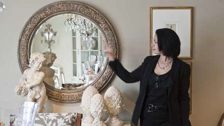 Dina Sapen of the Ethan Allen store in