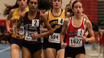 Sarah Connelly of Mt. Sinai (right) and Roshni