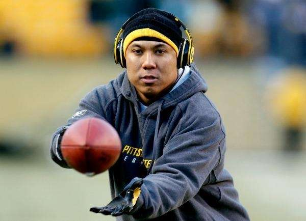 HINES WARD Pittsburgh Steelers wide receiver. Pittsburgh will