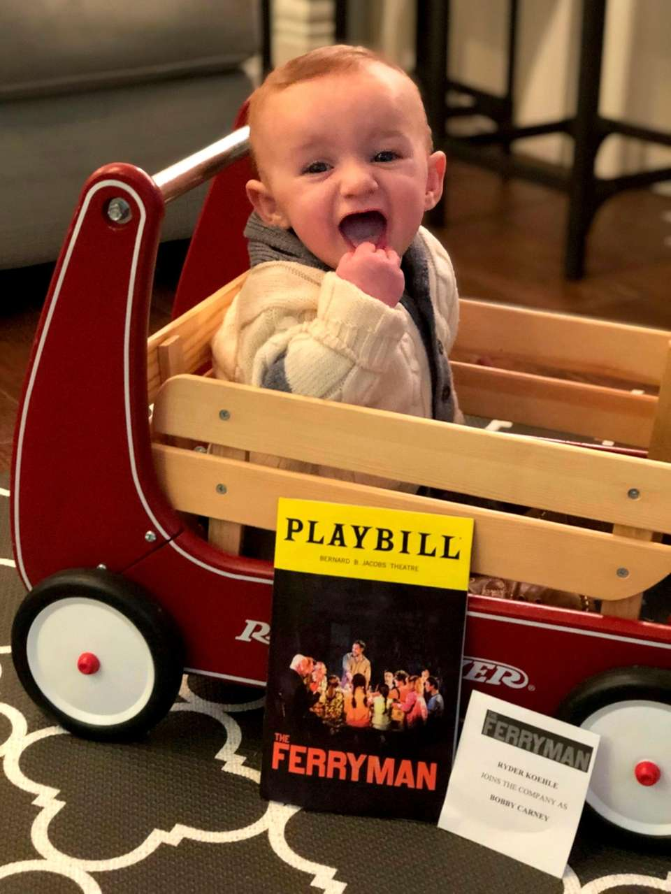 Ryder is the epitome of a Broadway baby.