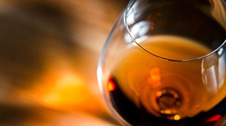 Glass of Cognac. If it's not from Cognac,