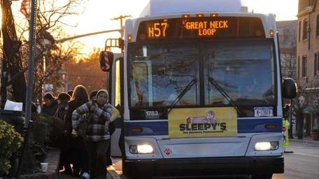 Nassau's bus system projects higher expenses due to