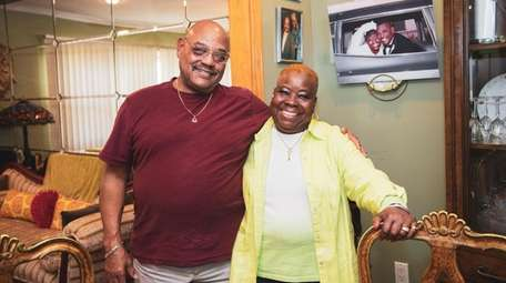 Gerald and Amelia Mullen, married 50 years, at