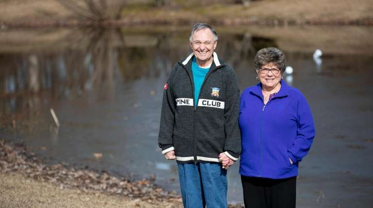 Jim, 75, and Dianne Jackman, 73, married for