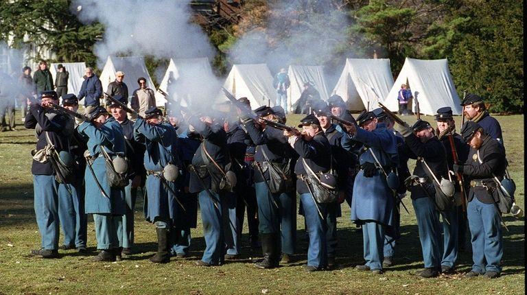 Members of Company H, 119th New York Volunteer