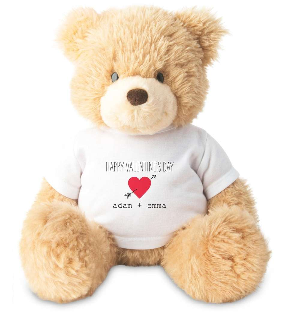 Shutterfly teamed up with Gund for this plush