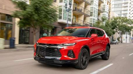 The 2019 Chevrolet Blazer midsize SUV offers a