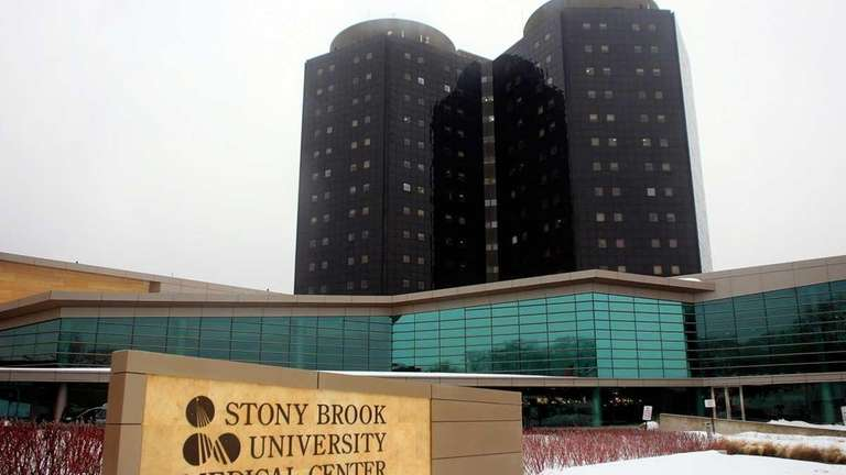 The Stony Brook University Medical Center is seen
