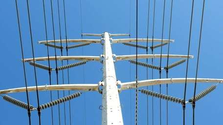 A file photo of power lines on Long