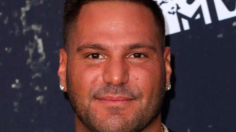 "Ronnie Ortiz-Magro attends the premiere of ""Jersey Shore:"