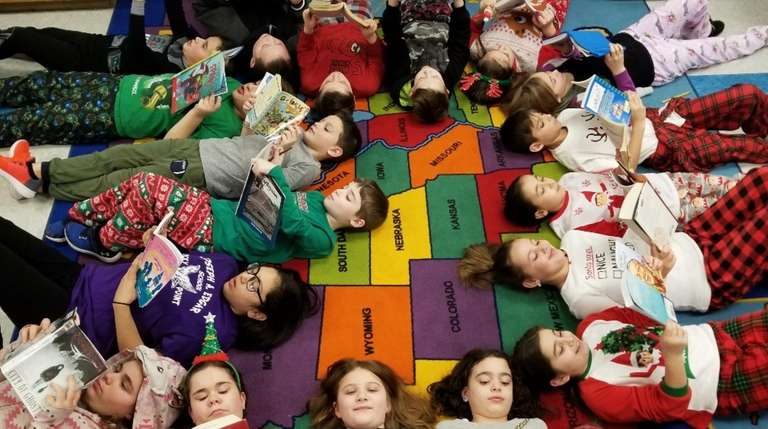 In Rocky Point, fourth-graders in Debbie Vieira and