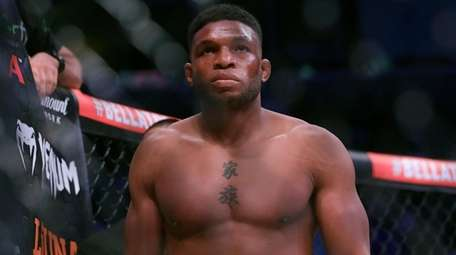 Paul Daley before a mixed martial arts fight